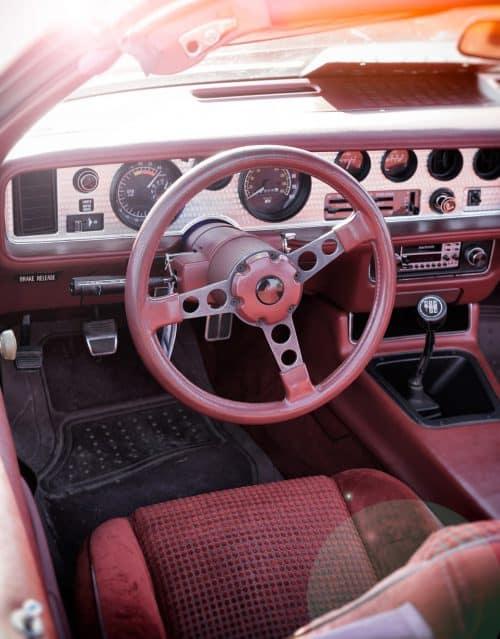 Innenraum altes Auto